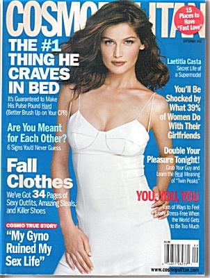 Cosmo COSMOPOLITAN Magazine Sept 2002 (Image1)