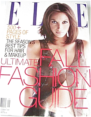 ELLE Fashion Magazine SEPT 97 HUGE ISSUE (Image1)