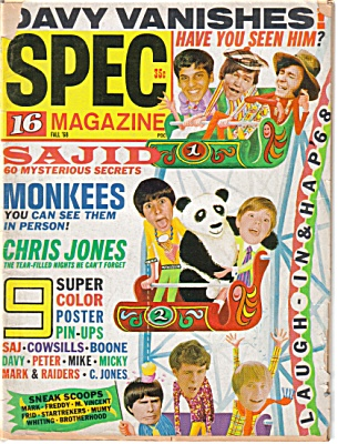 16 TEEN  Magazine August 1968 Monkees +++ (Image1)