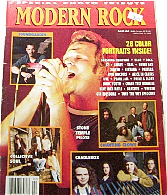 Modern Rock Magazine AUG 1994 PHOTOS (Image1)