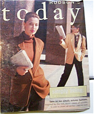 HUDSONs Autumn Fashions Catalog SEPT 1996 (Image1)