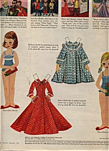BETSY McCall w/ BARBARA PAPER DOLL DOLLS 1956 (Image1)