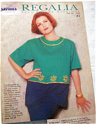 1993 REGALIA Full Figure Fashion Catalog (Image1)