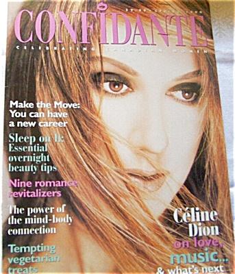 1999 Avon CONFIDANTE Magazine Celine Dion (Image1)