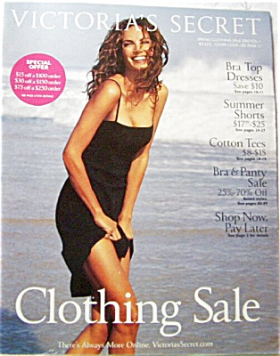 Victoria's Secret Catalog SPRING Clothes 2002 (Image1)