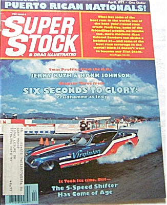 Super Stock and Drag Illustrated - April 1977 (Image1)