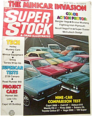 Super Stock and Drag Illustrated - July 1973 (Image1)