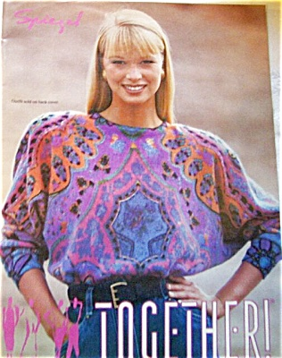 1991 Spiegel Womens Fashion Catalog Yasmin Le