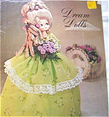 1974 DREAM DOLLS Doll Making Book / Patterns (Image1)