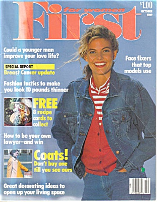 FIRST for WOMEN 1989 Fashions Knitting +++ (Image1)