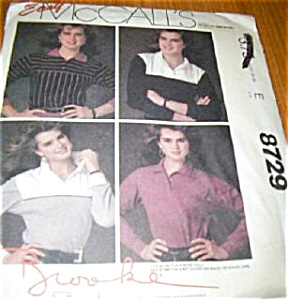 VINTAGE~ McCalls Brooke Shield Pattern UNCUT (Image1)