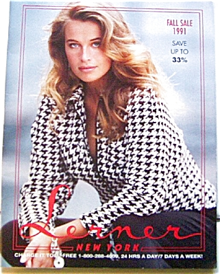 1991 LERNER New York Women's  Fashion Catalog (Image1)