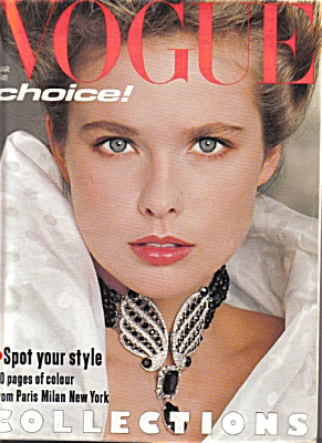 Vogue UK Magazine MARCH 1983 Fashions (Image1)