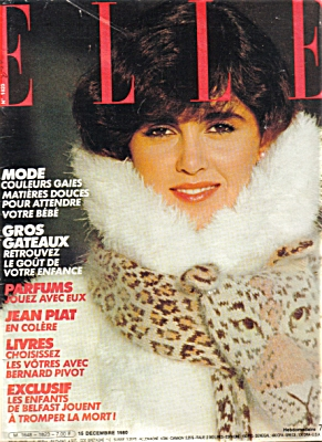 Elle FRANCE Magazine December 1980 (Image1)