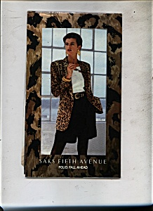 Saks Fifth Avenue Catalog - 1992 (Image1)