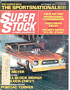 Super Stock and Drag Illustrated - SEPT 1974 (Image1)