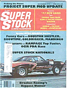 Super Stock and Drag Illustrated - NOV 1976 (Image1)