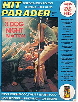 1971 HIT PARADER Music Magazine Elton John ++ (Image1)