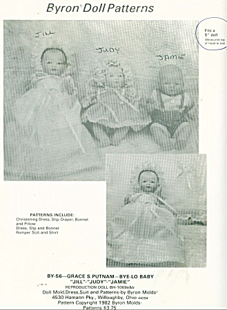 Layette For 5 In Baby Dolls
