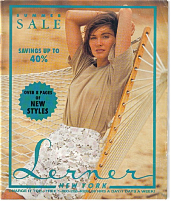 1991 Lerner New York Fashion Catalog Summer