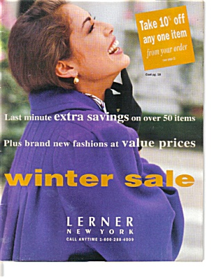 1993 Lerner New York Women's Fashion Catalog (Image1)