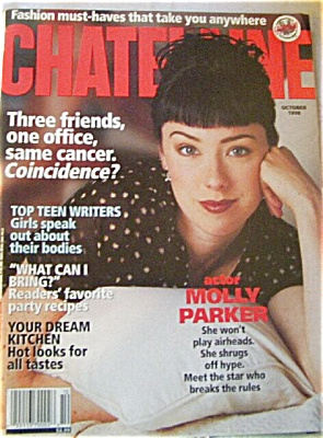 Chatelaine CANADA Women's Magazine OCT 1998 (Image1)