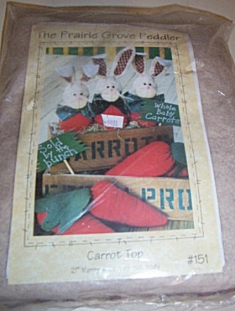 Carrot Top 21 Inch Bunny With Carrot Body