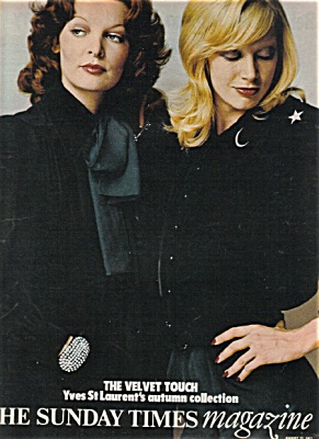 1971 UK Sunday Times Magazine FASHIONS (Image1)