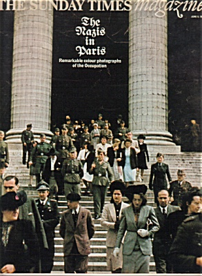 1974 UK Magazine NAZI'S in PARIS - SPODE Hist (Image1)