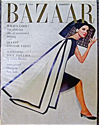 1964 Harper's Bazaar Magazine AVEDON SCAVULLO (Image1)