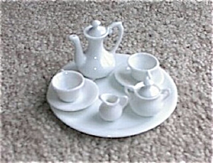 Tiny Doll House Hp Porcelain Tea Set