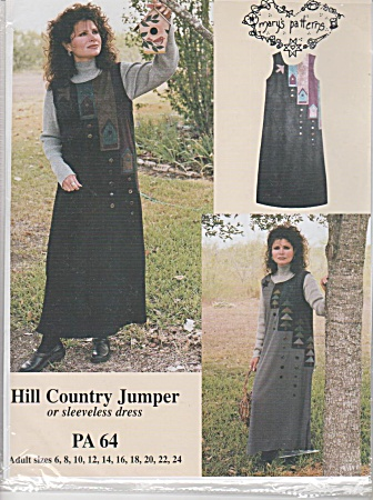Jumper Or Dress - Hill Country Pattern - Sz 6-24