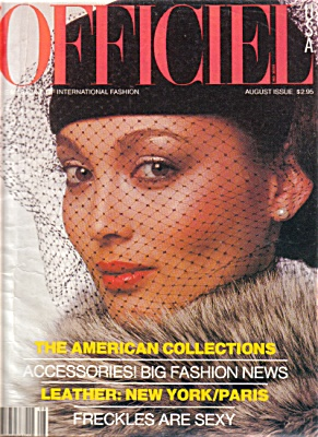 Officiel Magazine AUG 1978 International Fash (Image1)