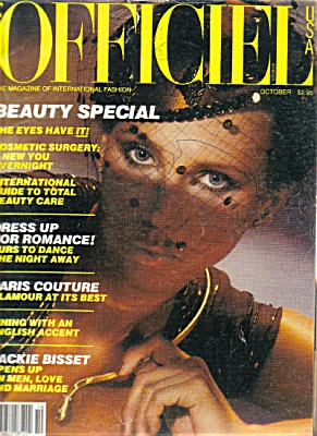 L'Officiel Magazine October 1979 (Image1)