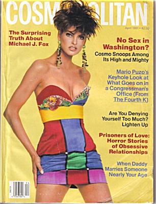 COSMO Cosmopolitan Magazine APR 1991 Evangeli (Image1)