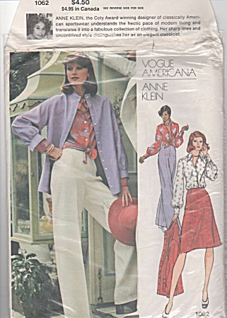 Vogue Americana - Anne Klein - Misses Wardrobe