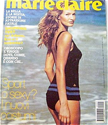 1994 MARIE CLAIRE ITALIAN  Magazine KAREN MUL (Image1)