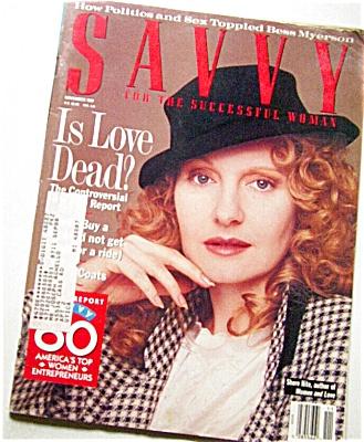 1987 SAVVY Women's Magazine Fashions +++ (Image1)