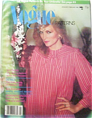1981 VOGUE Pattern Book Magazine Fashions Mod (Image1)