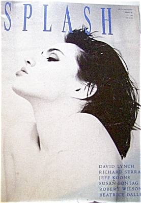 1989 SPLASH FASHION ART Magazine Models +++ (Image1)