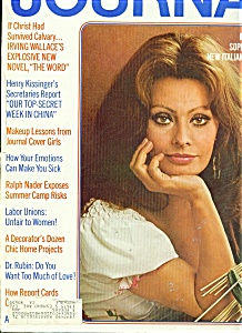 Ladies Home Journal magazine - March 1972 (Image1)