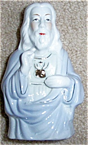 Beautiful Sacred Heart Jesus Statue Porcelain (Image1)