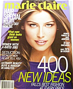 Marie Claire Fashion Magazine Sept 1997