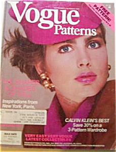Vogue Patterns Magazine SEPT 1985 (Image1)