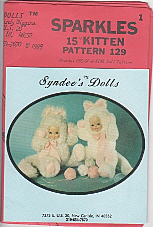 Syndee's - Kitten - Porcelain Head - Doll Outfit - 15