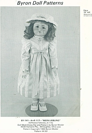 DRESS AND HAT PATTERN MEIN LIEBLING (Image1)