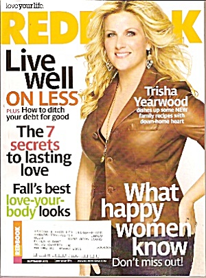 Redbook Magazine- November 2008