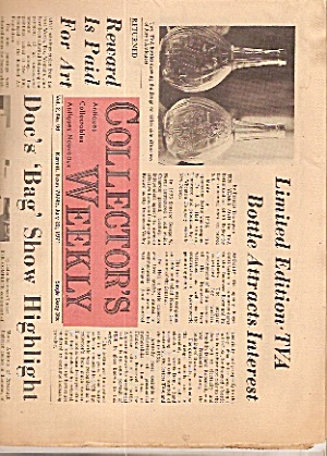 Collector's Weekly Newspaper - July 20, 1971