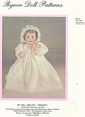 Baby Doll Wardrobe 15in Doll Byron 184