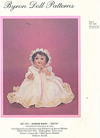 BYRON PATTERN 191 15 IN BABY DOLL (Image1)